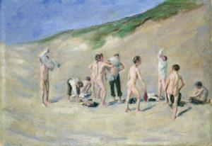 ;Max Liebermann: Nach dem Bade, 1904