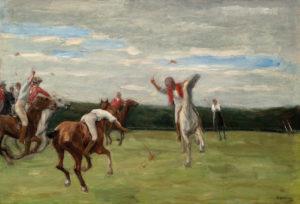 Max Liebermann: Polospieler in Jenischs Park, 1903