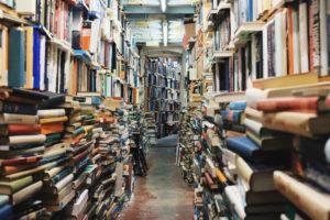 Bibliothek und ihre typischen Besucher