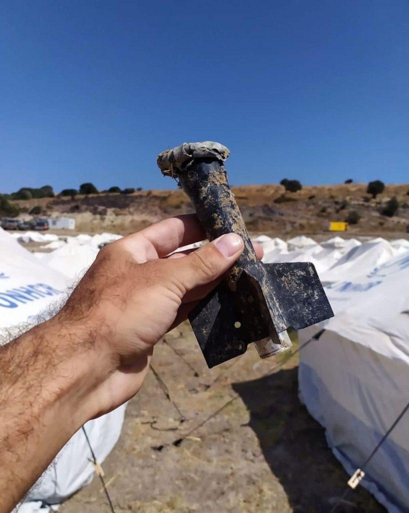 Immer wieder wird alte Munition auf dem Gelände in Kara Tepe gefunden.